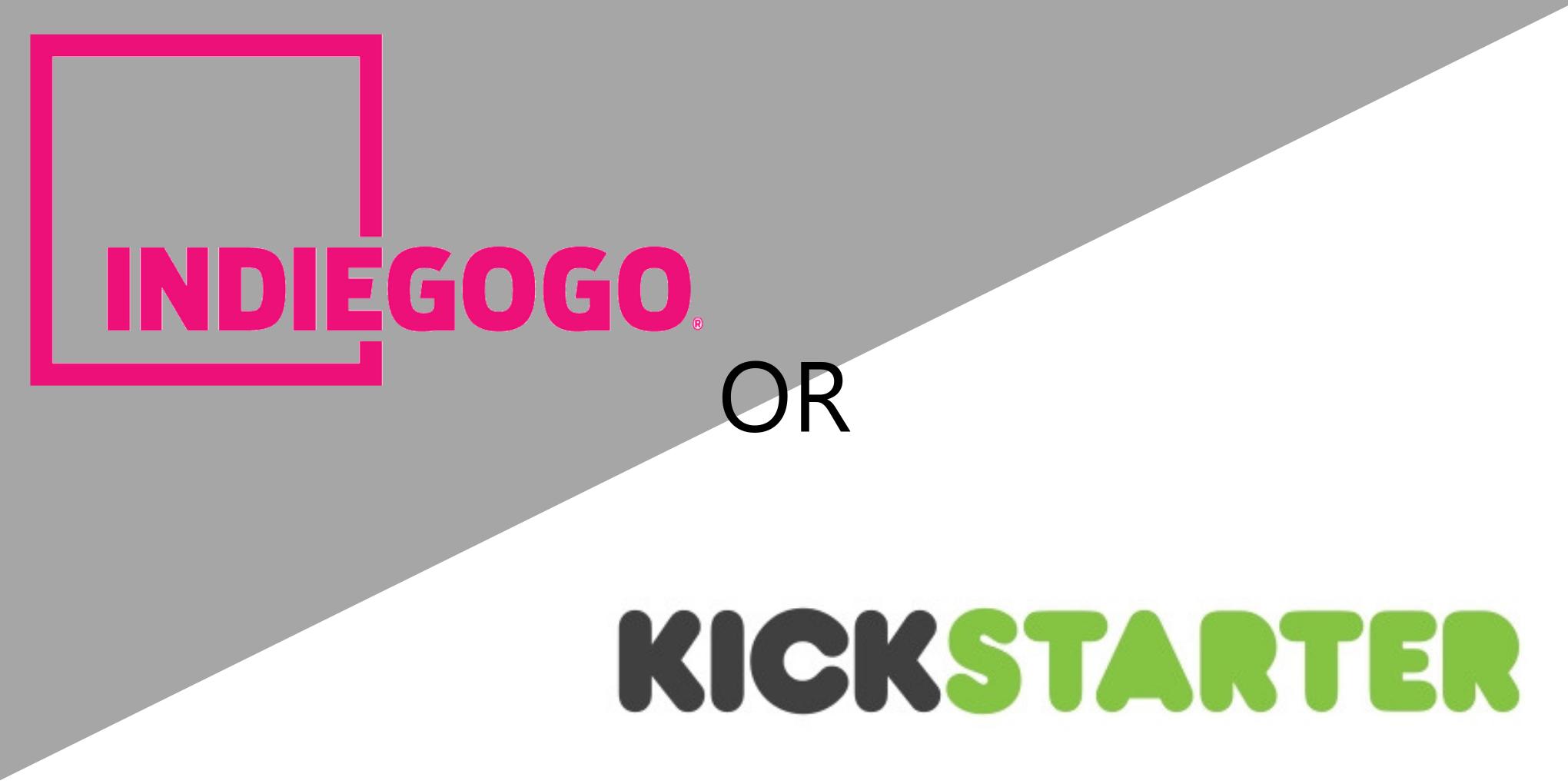 Crowdfunding, Choosing Indiegogo or Kickstarter?A Crowdfunding Infographic.